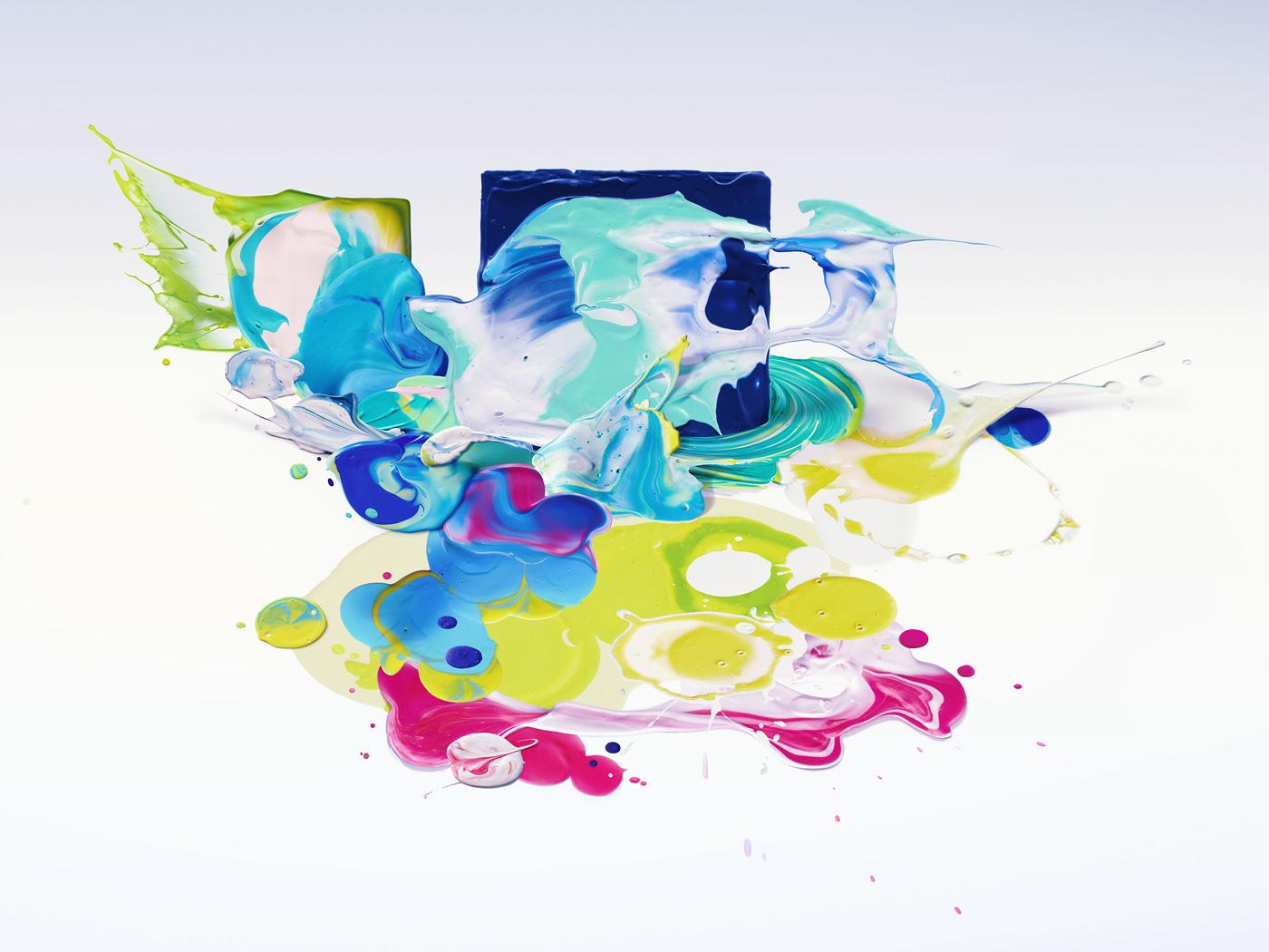 squarespace brand identity logo Logotype paint color arts art visual