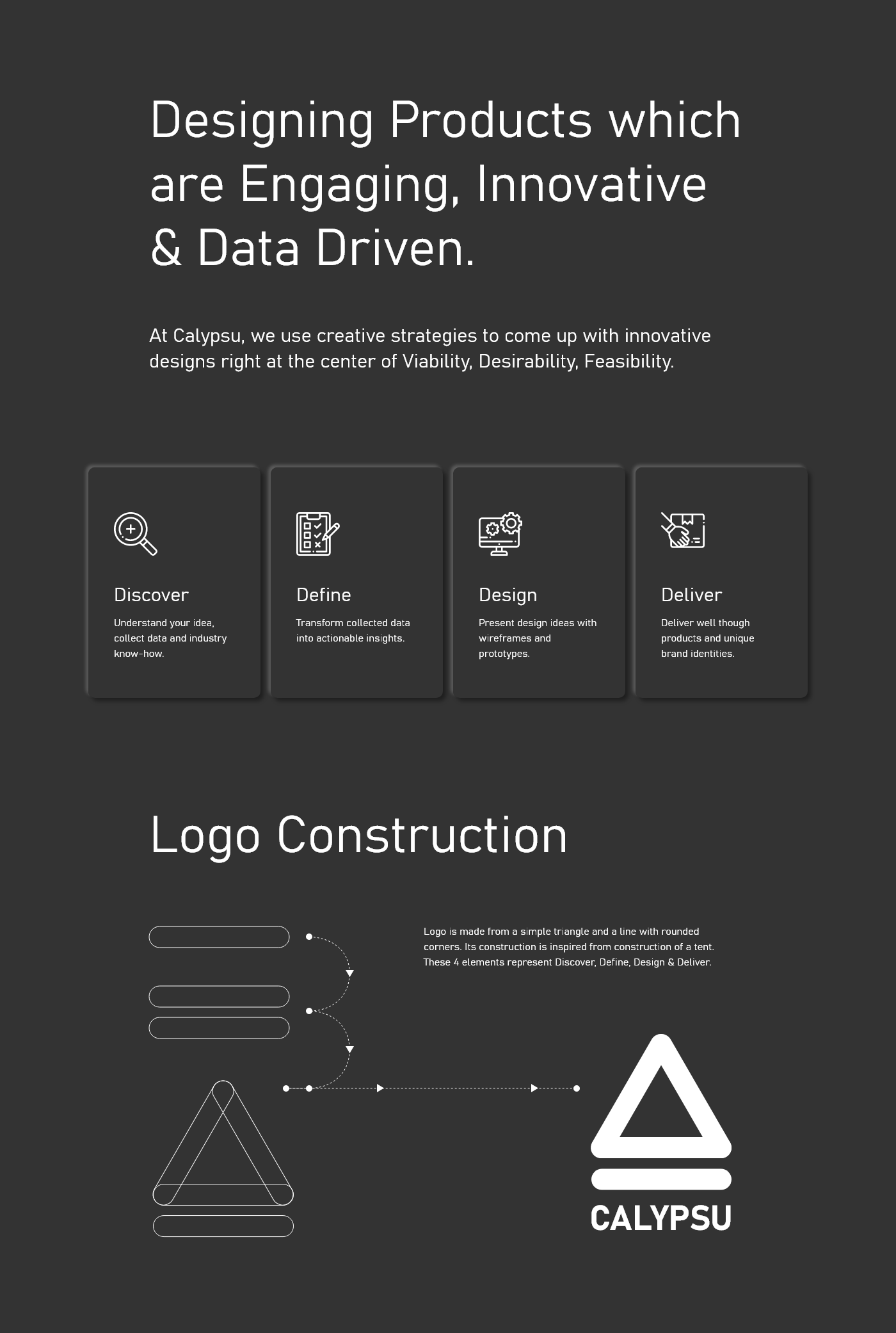 branding  trend dark Mode calypsu colour logo design animation  gray