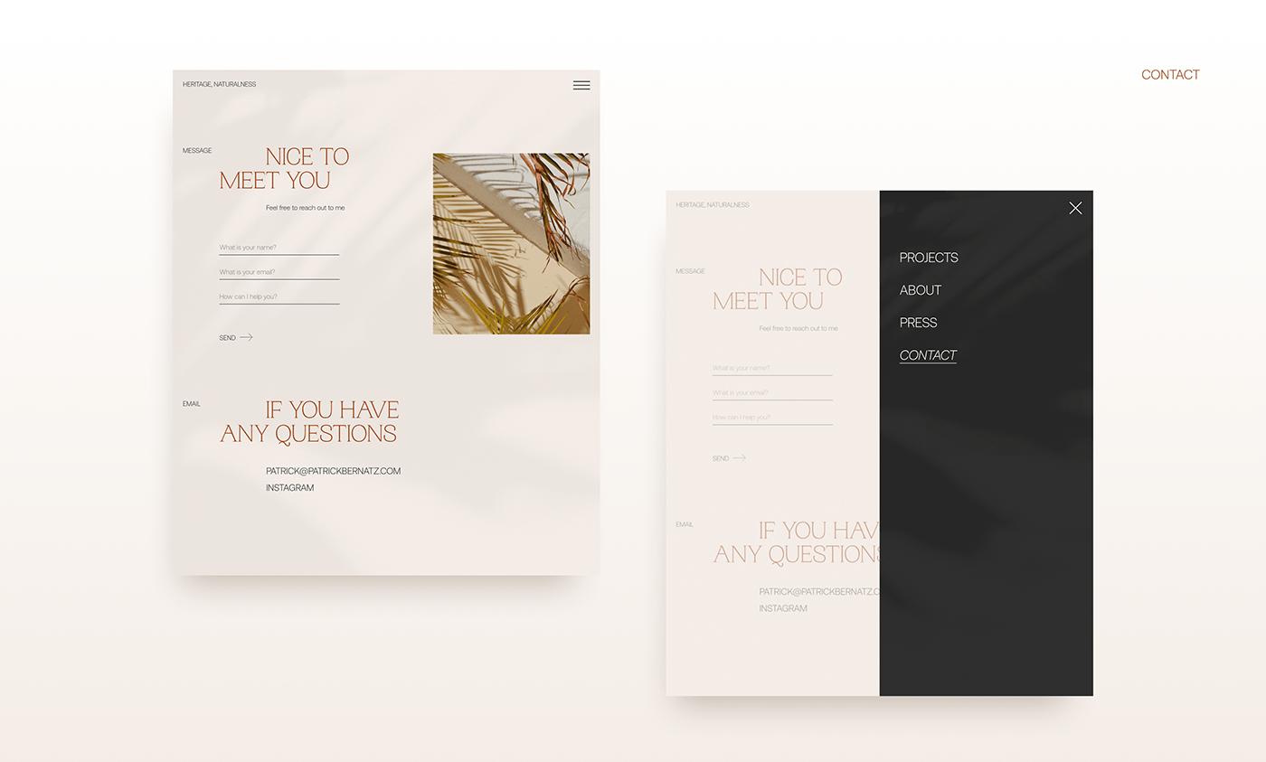 architect studio design studio redesign UI/UX Web Web Design