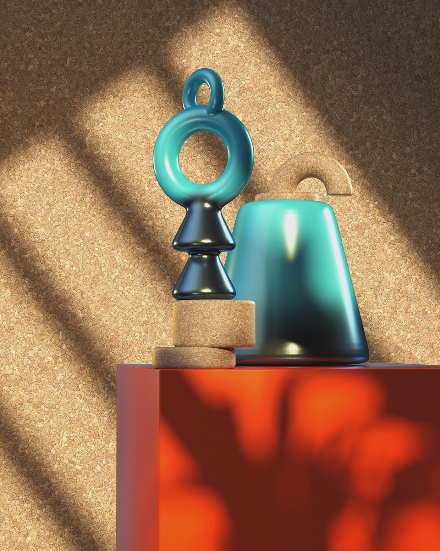 3D,c4d,octane,set design ,objects,home