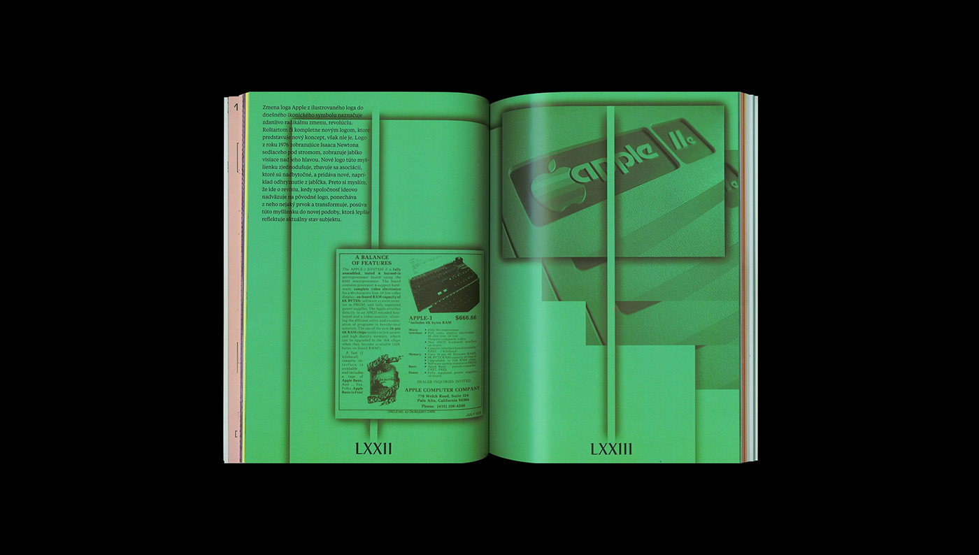 book Case Study evolution facelift logo publication redesign reduction refresh restart