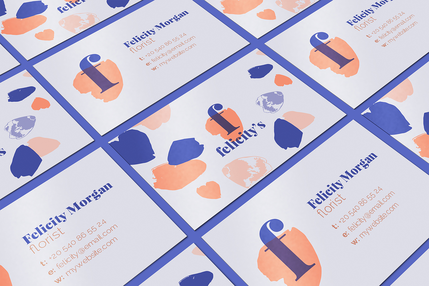 Florist Logo and Business Card Template on Behance