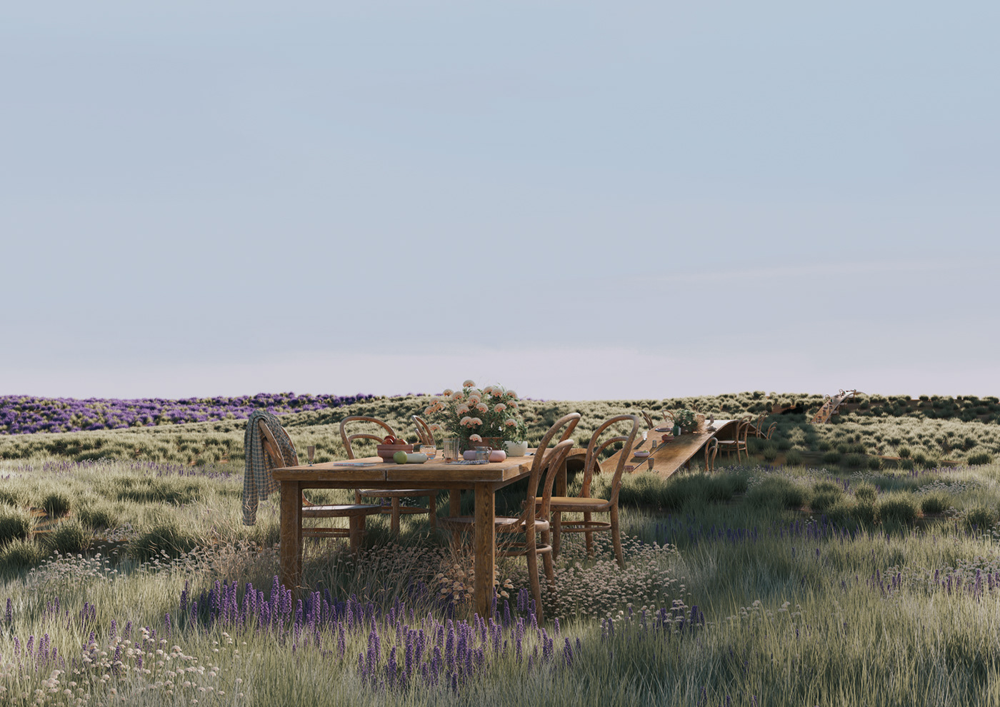 3D CGI digitalart digitalnature Flowers Nature plants reisinger Renderart