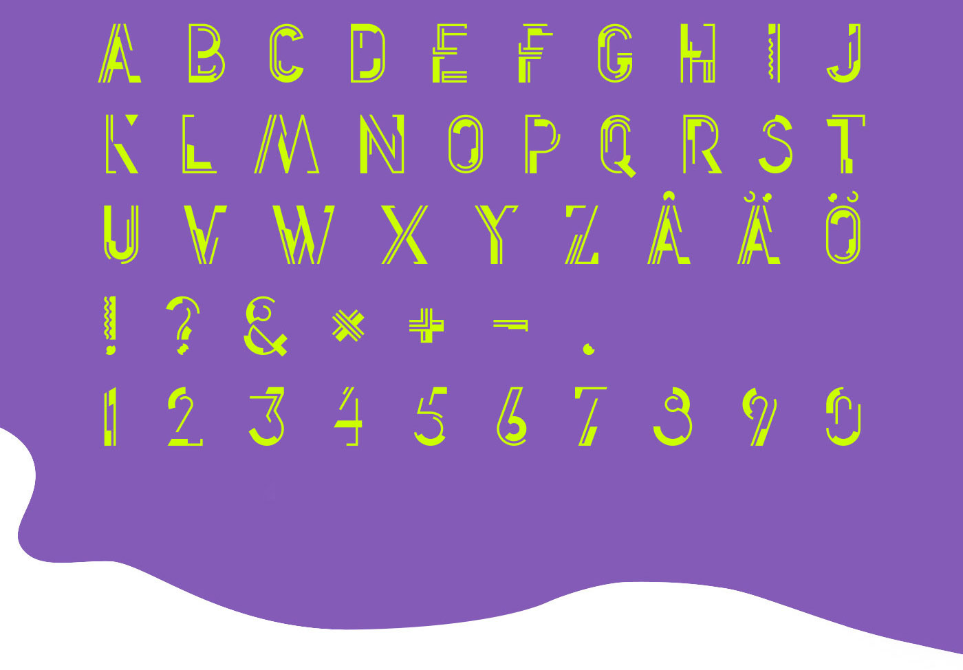modern futuristic minimalistic Space  font Typeface mars nasa typography