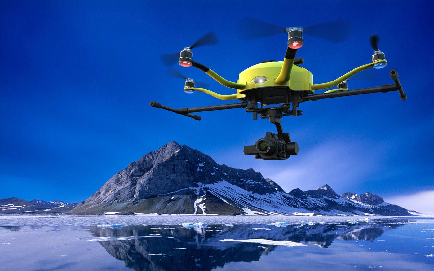 Skyway drone hexacopter ehang Carbon Fiber