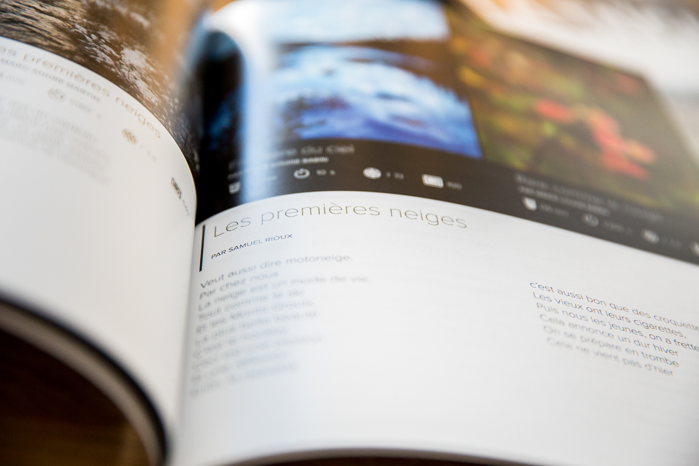 magazine,exposition,poésie,taiga,nord,Quebec,paysage,print