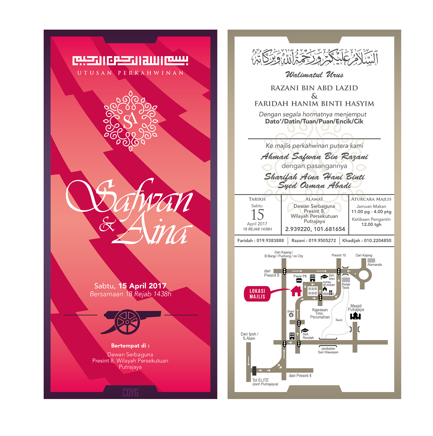 Wedding Invitations / Kad Kahwin (Custom) on Wacom Gallery