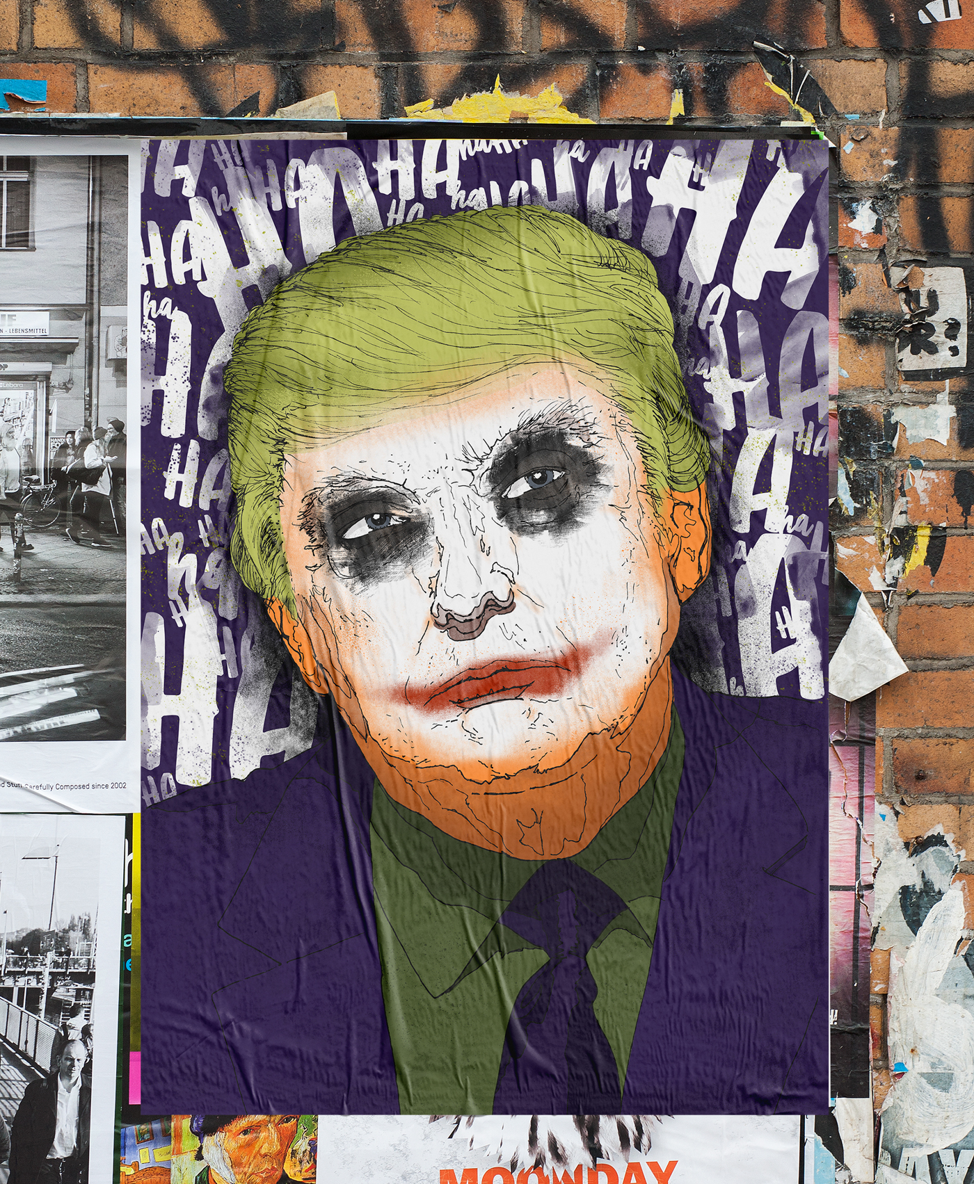 Trump president trump joker