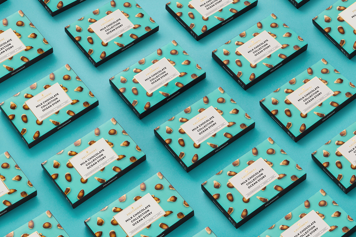 chocolate chocolates package Packaging Sweets Food  dessert redesign