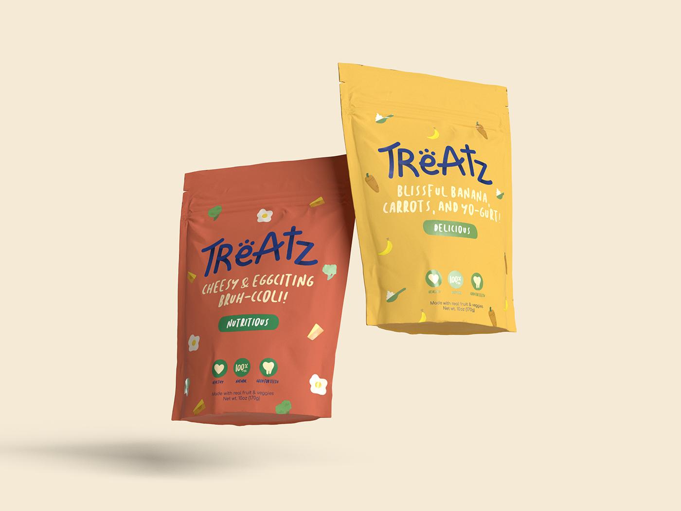Packaging Dog treats dog Layout Design branding