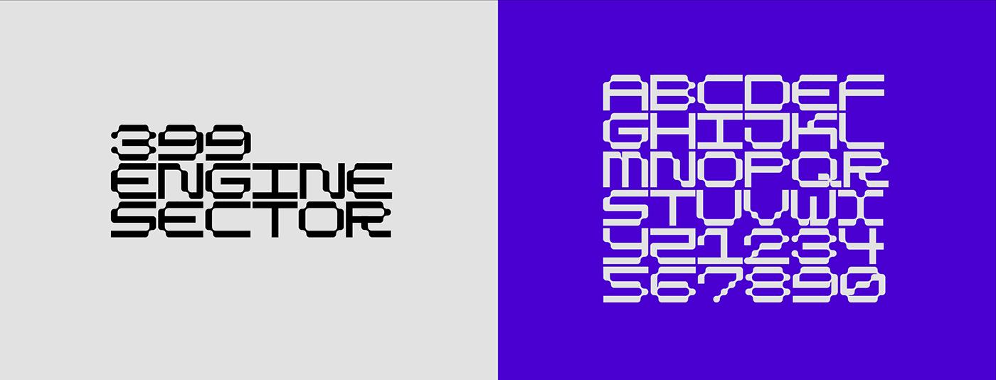 branding  custom type font type Typeface TYPOGRAM Typographie custom font custom typeface