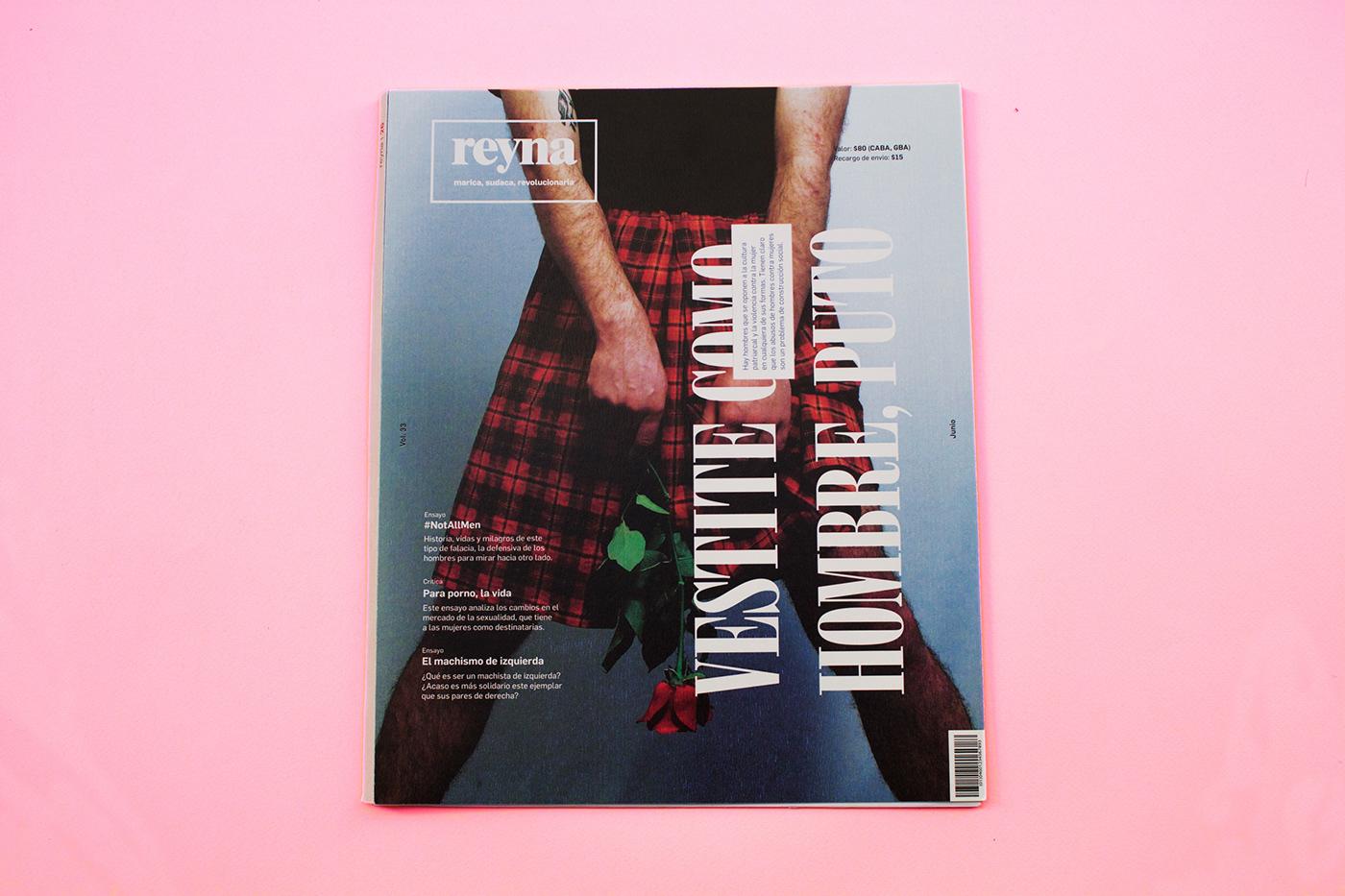 Reyna Magazine On Behance