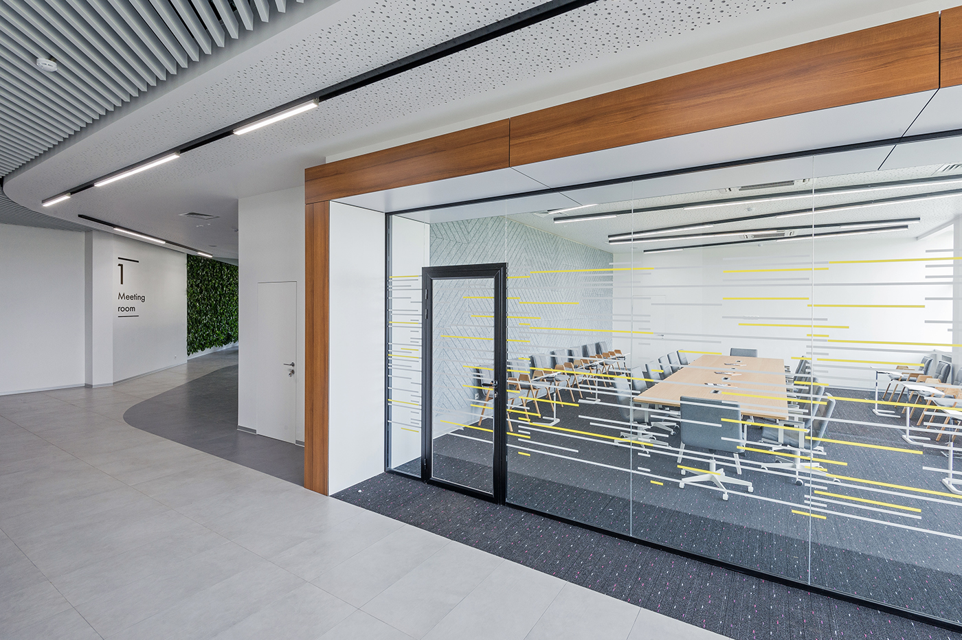 public space meeting room contemporary architectural interior portal eco-friendly recycled materials Общественные пространства переговорные