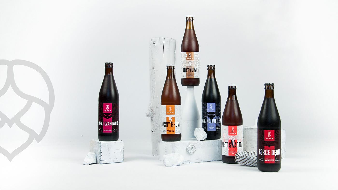 logo Perun beer brewery piwo browar behemoth