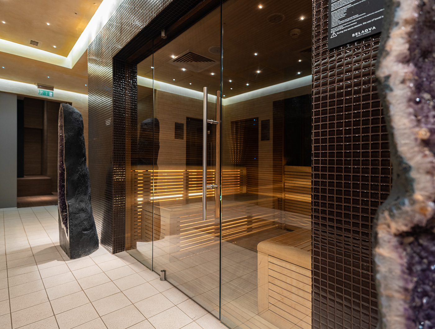 Image may contain: indoor, door and floor