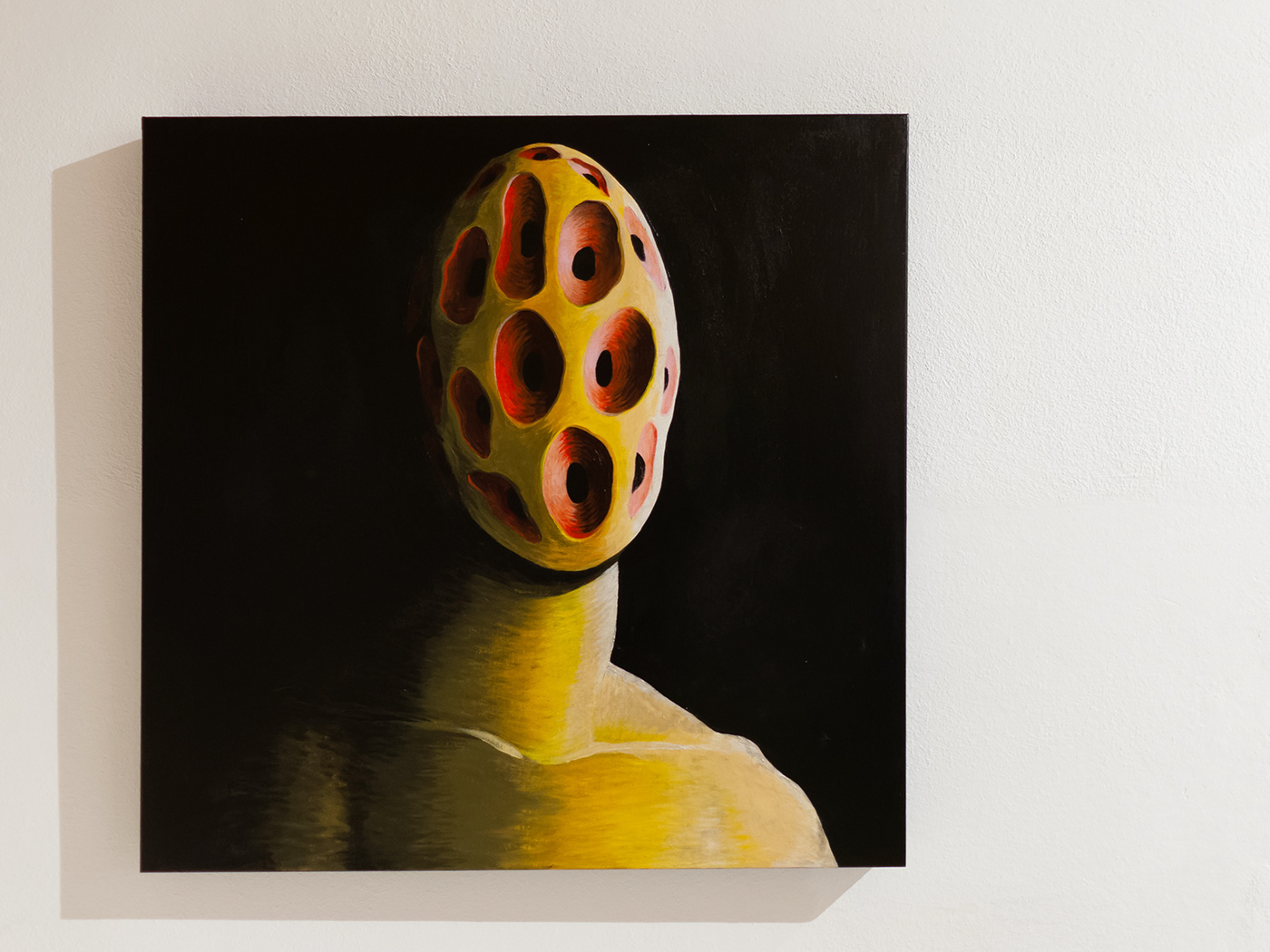 Image may contain: painting, wall and drawing
