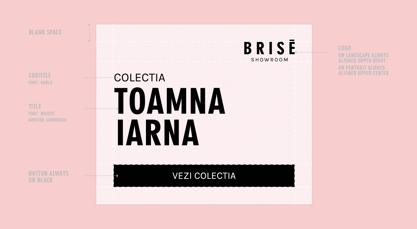 Fashion  branding  local romanian brise showroom fashion branding fashion brand Lookbook