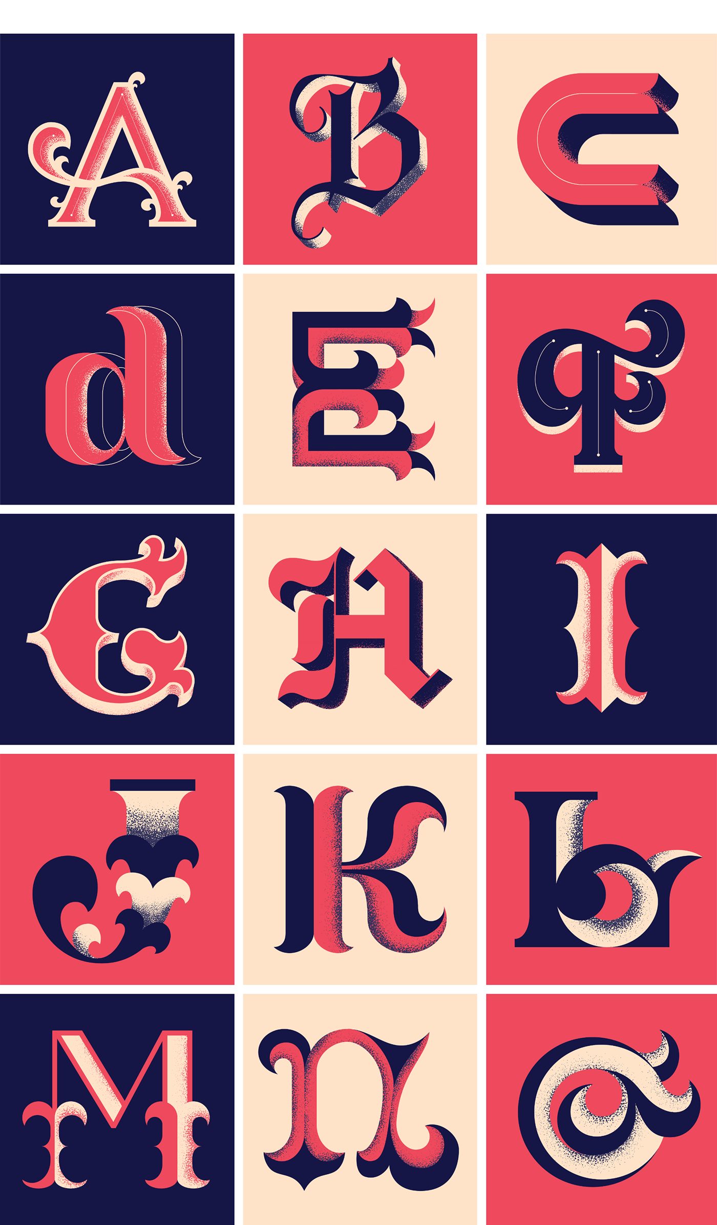 36 days 36 days of type alphabet font ILLUSTRATION  letter lettering of type type typography