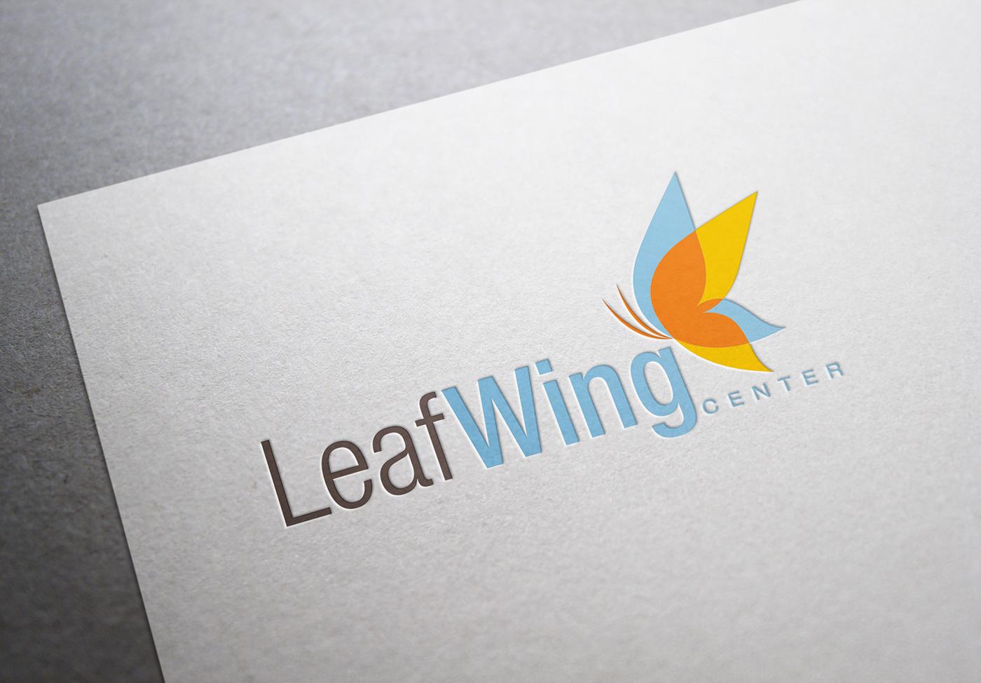LeafWing Center Logo