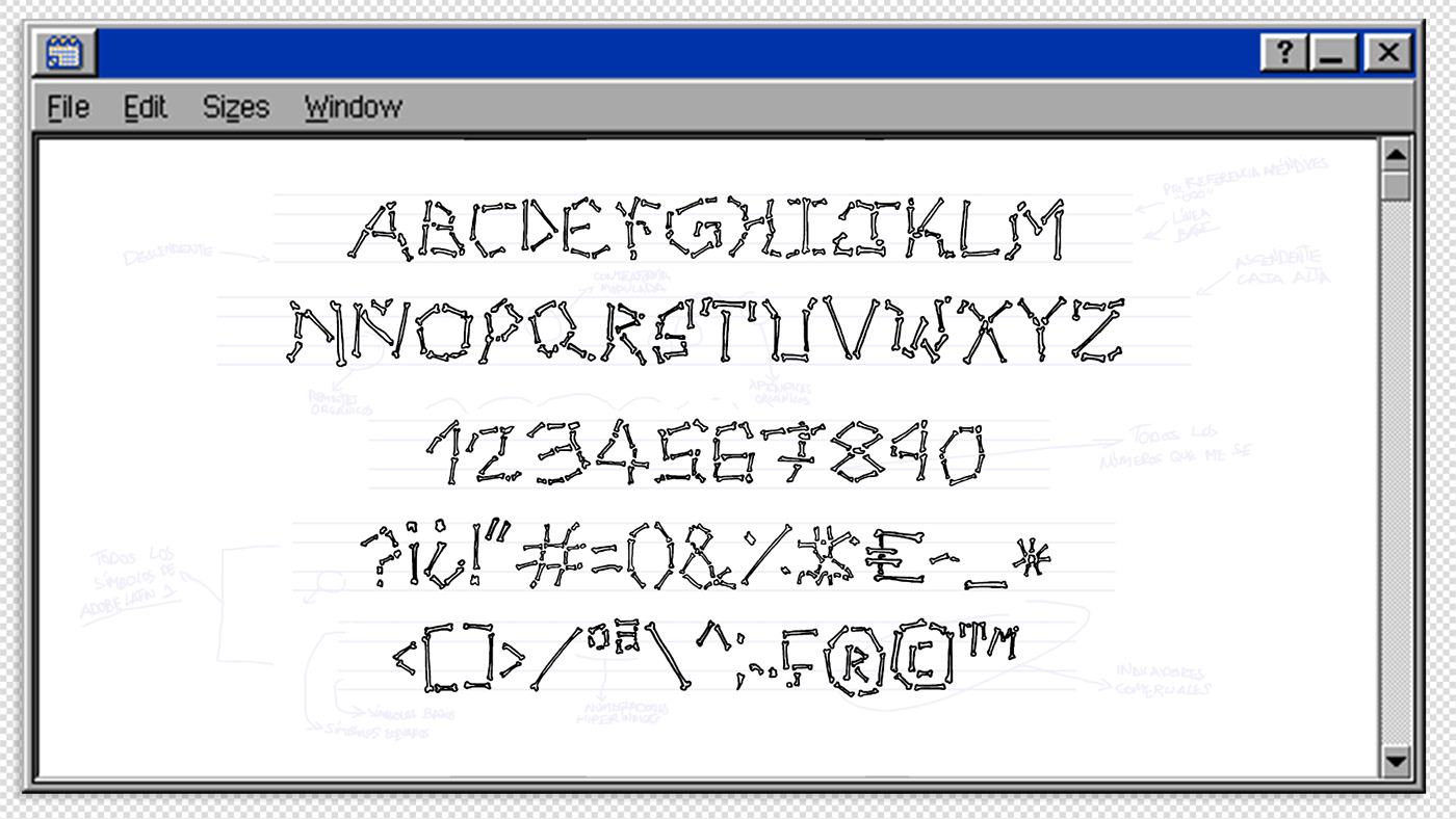diseño gráfico proceso creativo tipografia