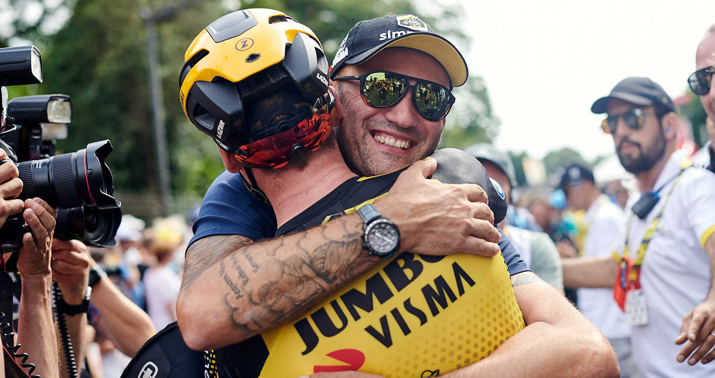 athlete behind the scenes Cycling jumbo-visma mike teunissen race rider sports Tour de France Yellow jersey