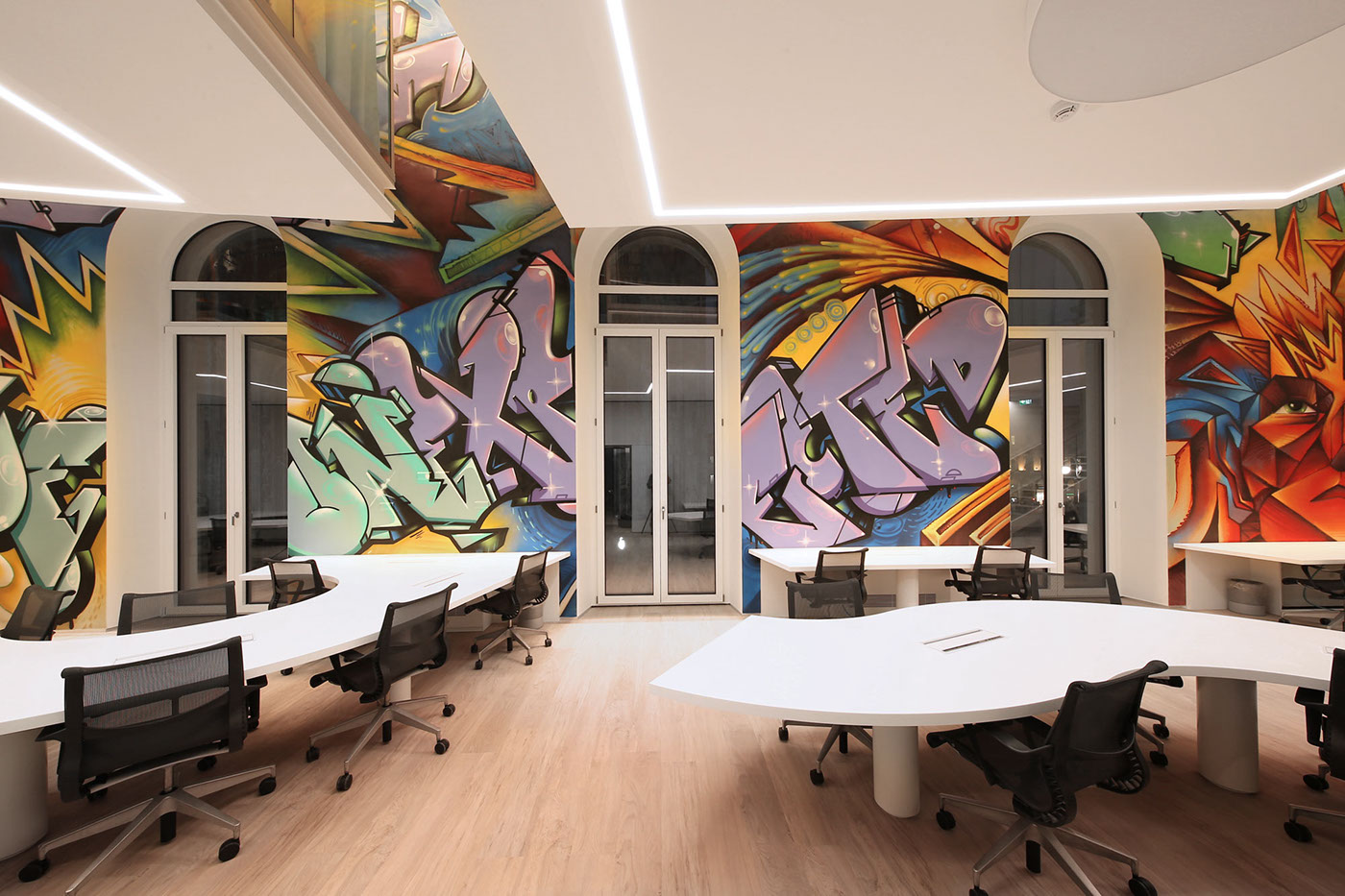 Boston consulting group office decor on behance for Design consultancy boston