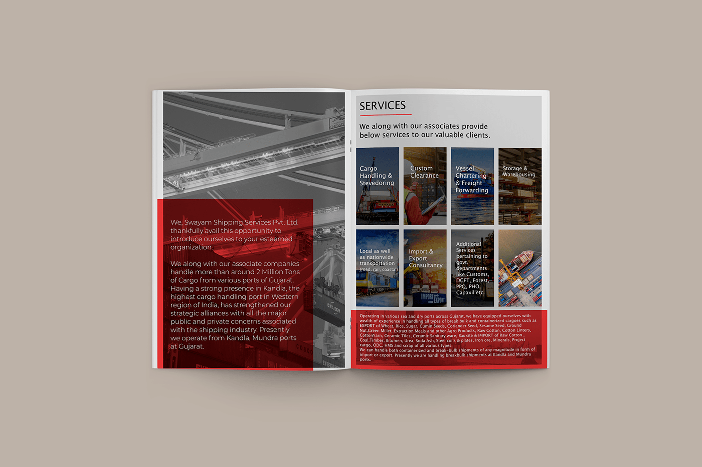 book cover business corporate editorial design  Logo Design magazine modern shipping typography