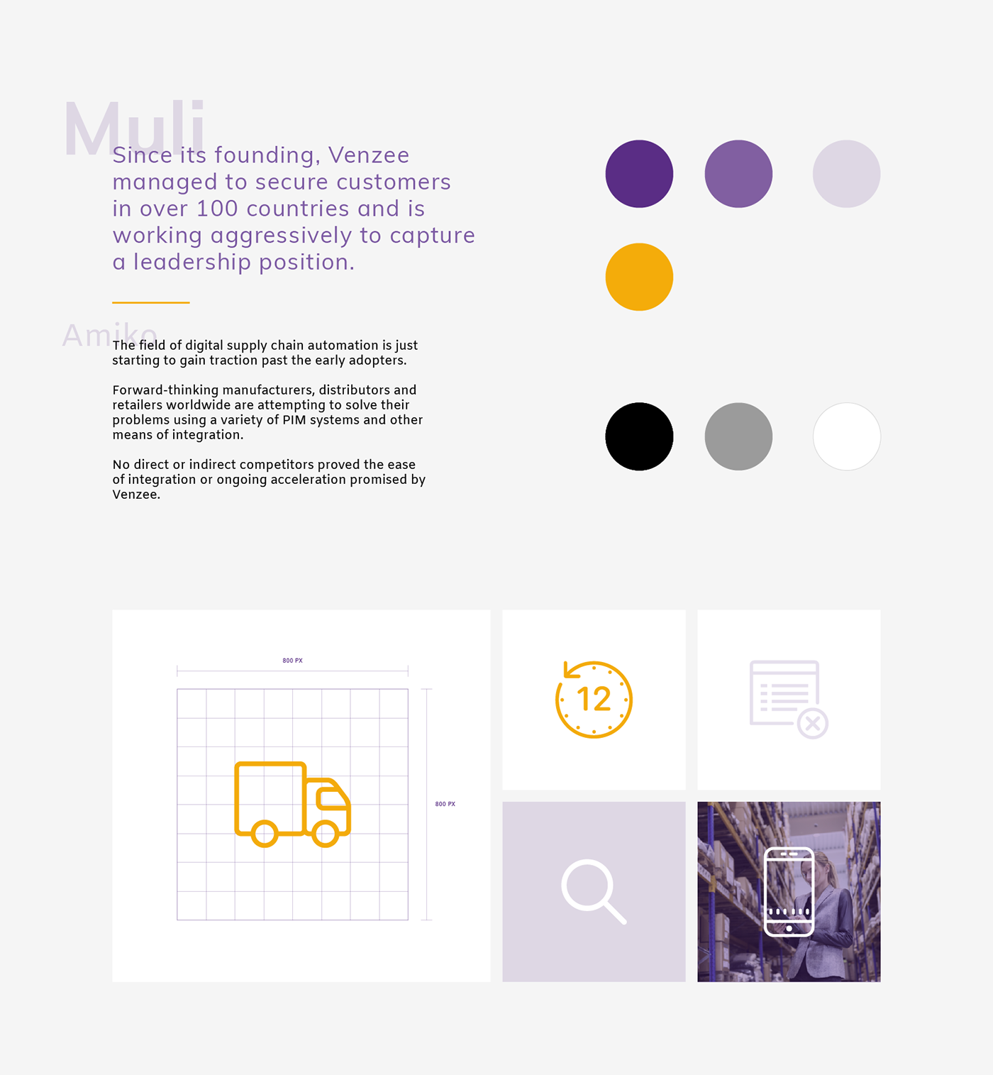 Supply Chain automation Web Design  ux UI branding  brand refresh logo
