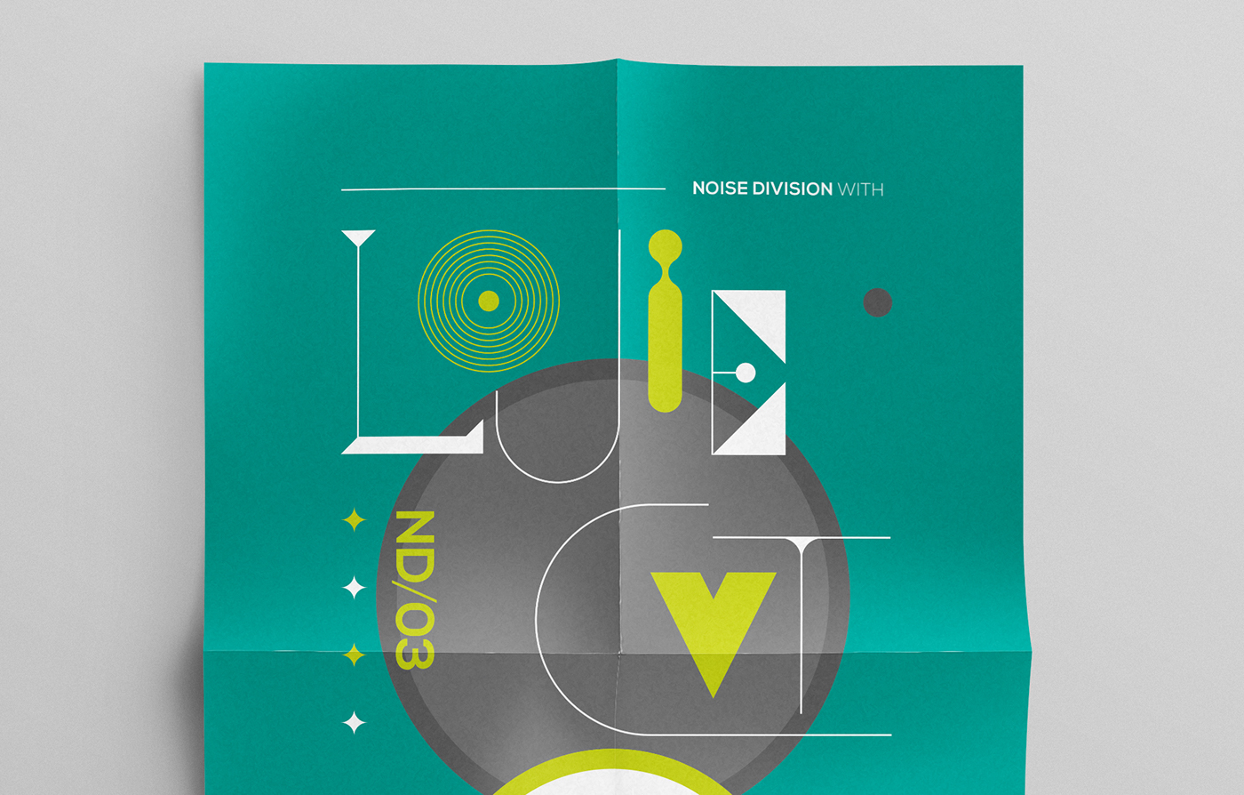 Noise division flyers posters el paso Events