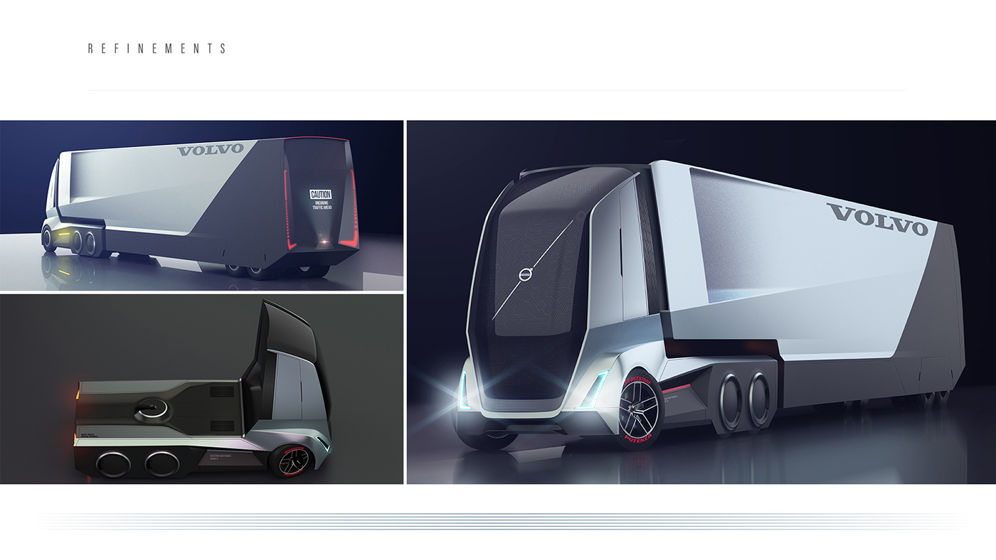 VOLVO FX The Next Generation Flagship Truck From Volvo on Behance