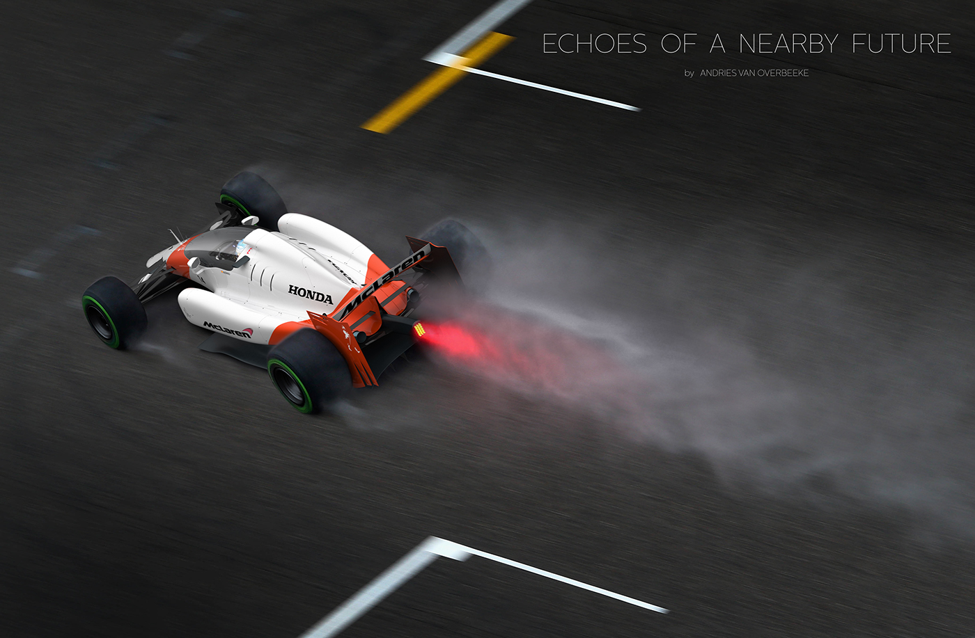 McLaren Honda Formula 1 closed cockpit concept by Andries van Overbeeke