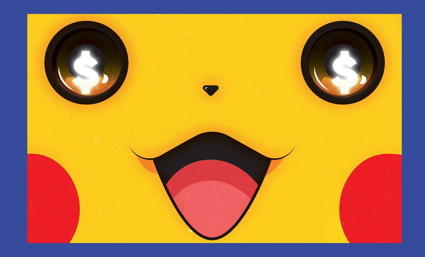 #pikachu #illustration #Charmander #bulbasaur #Squirtle #portuguese #illustrator #portugal #marketing #pokemongo
