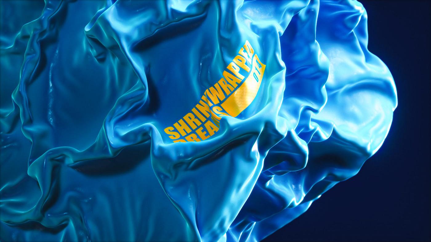 shrinkwrap  ,plastic,transparent,minimal,abstract,vellum,simulation