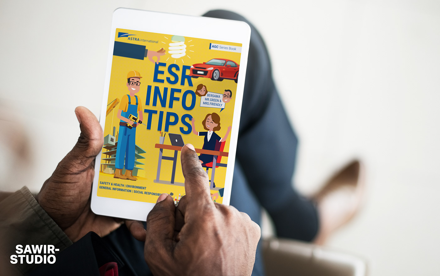 Astra International Internal's e-book titled 'ESR Tips and Info'