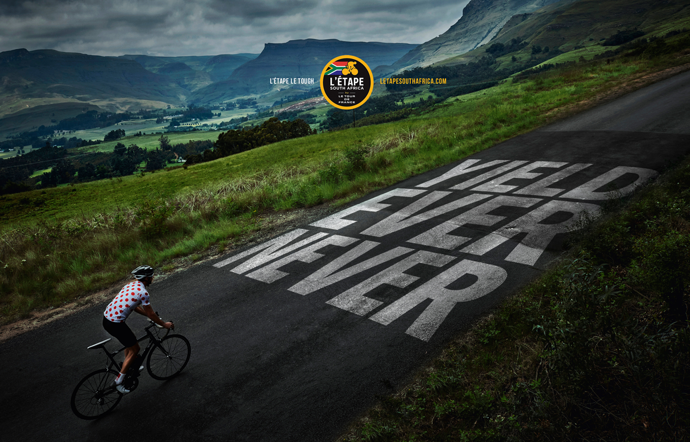 L'Étape cycle stage race Tour de France Photography  midlands sport cows cyclers typography   man