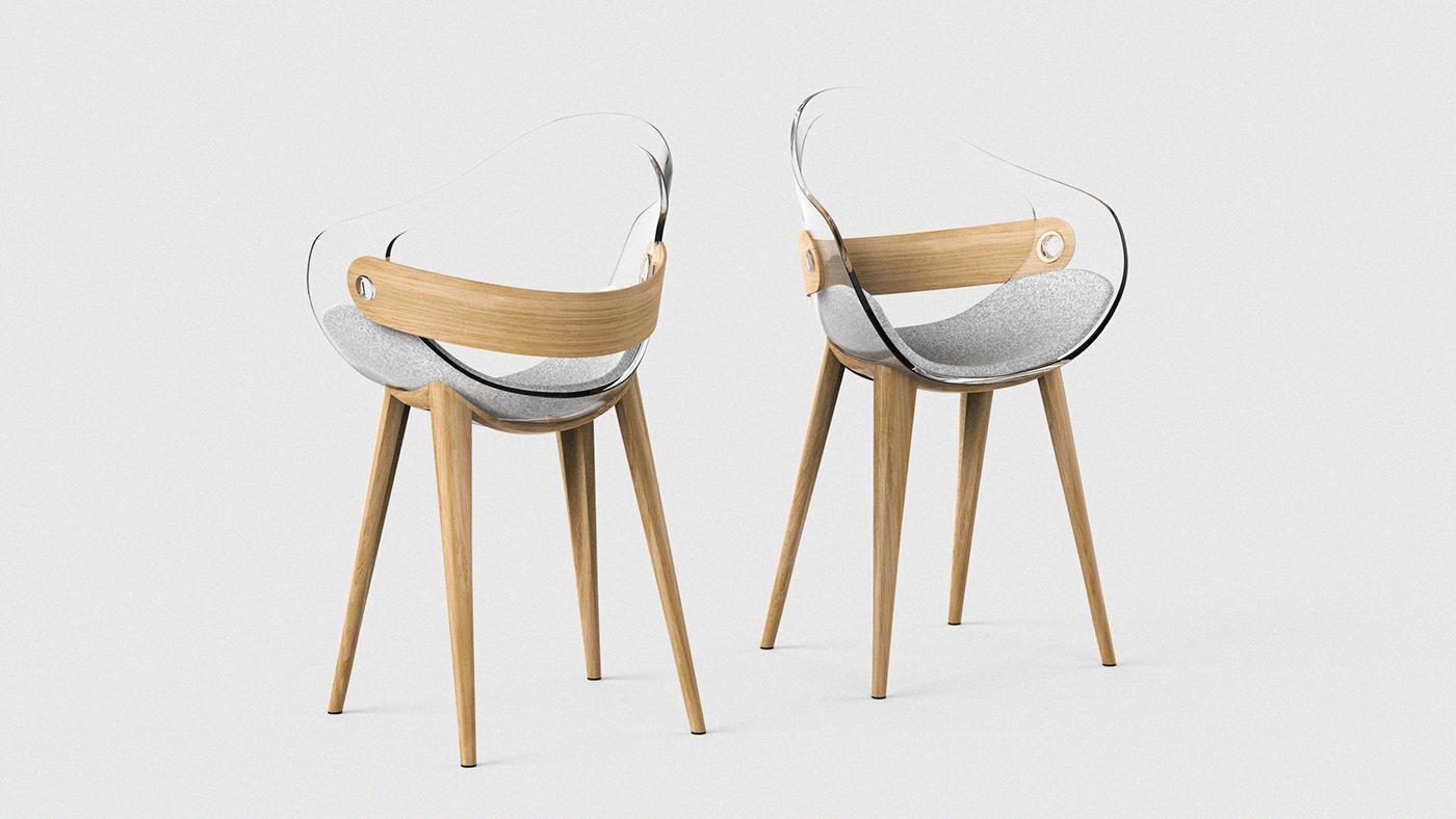 Swan Office Living Room Chair On Behance