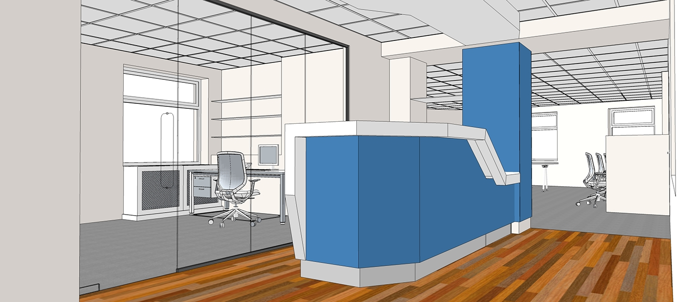 Workplace Interior On Behance