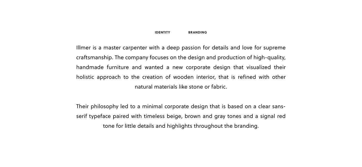 Carpentry Workshop Hand-craft carpenter austria Interior furniture architecture interior design  Corporate Design