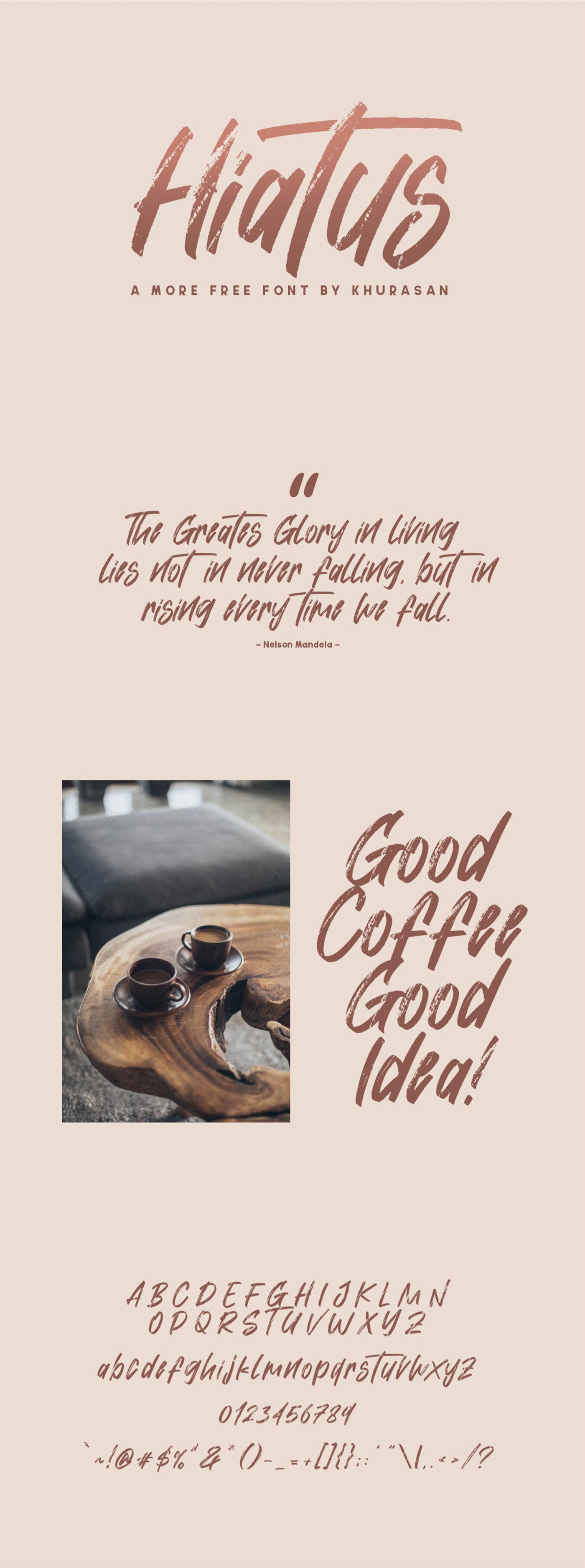 brush Brush font font free Free font freebie texture textured type Typeface