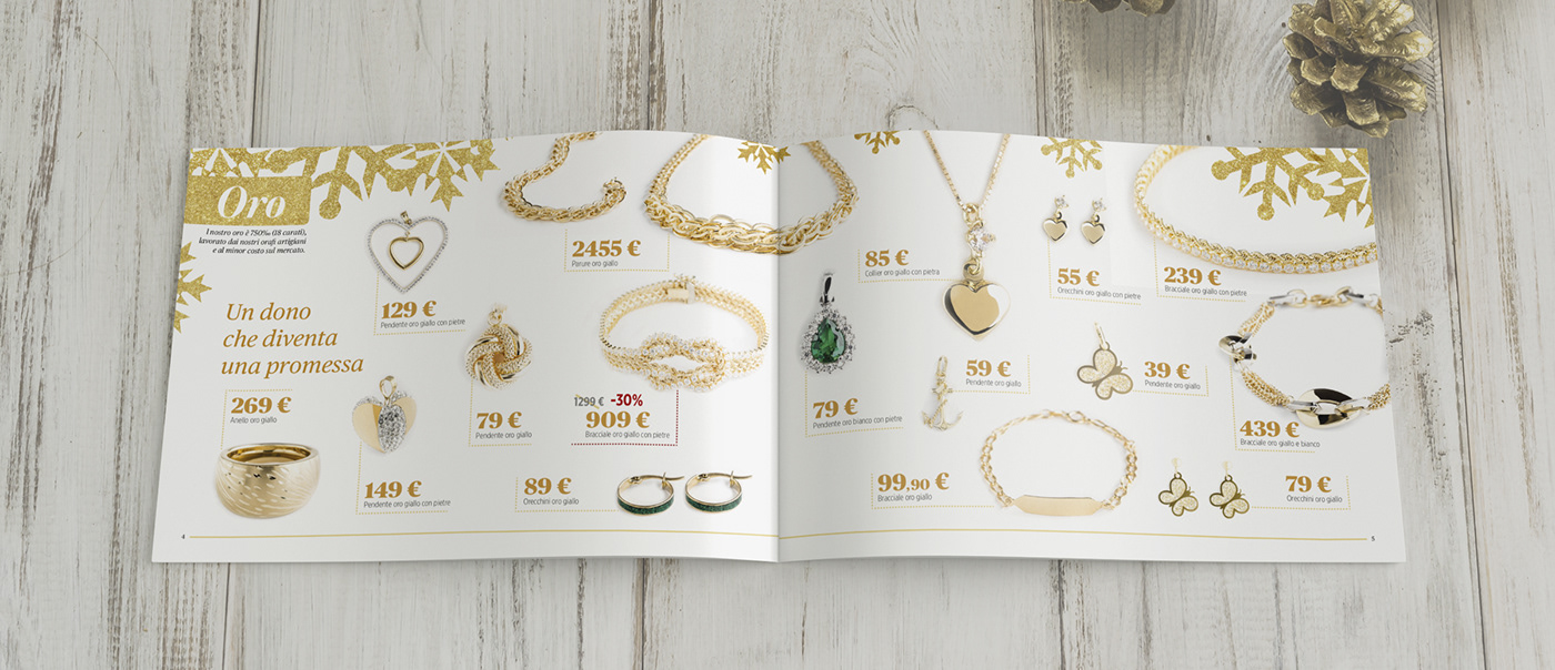 Christmas catalog brochure