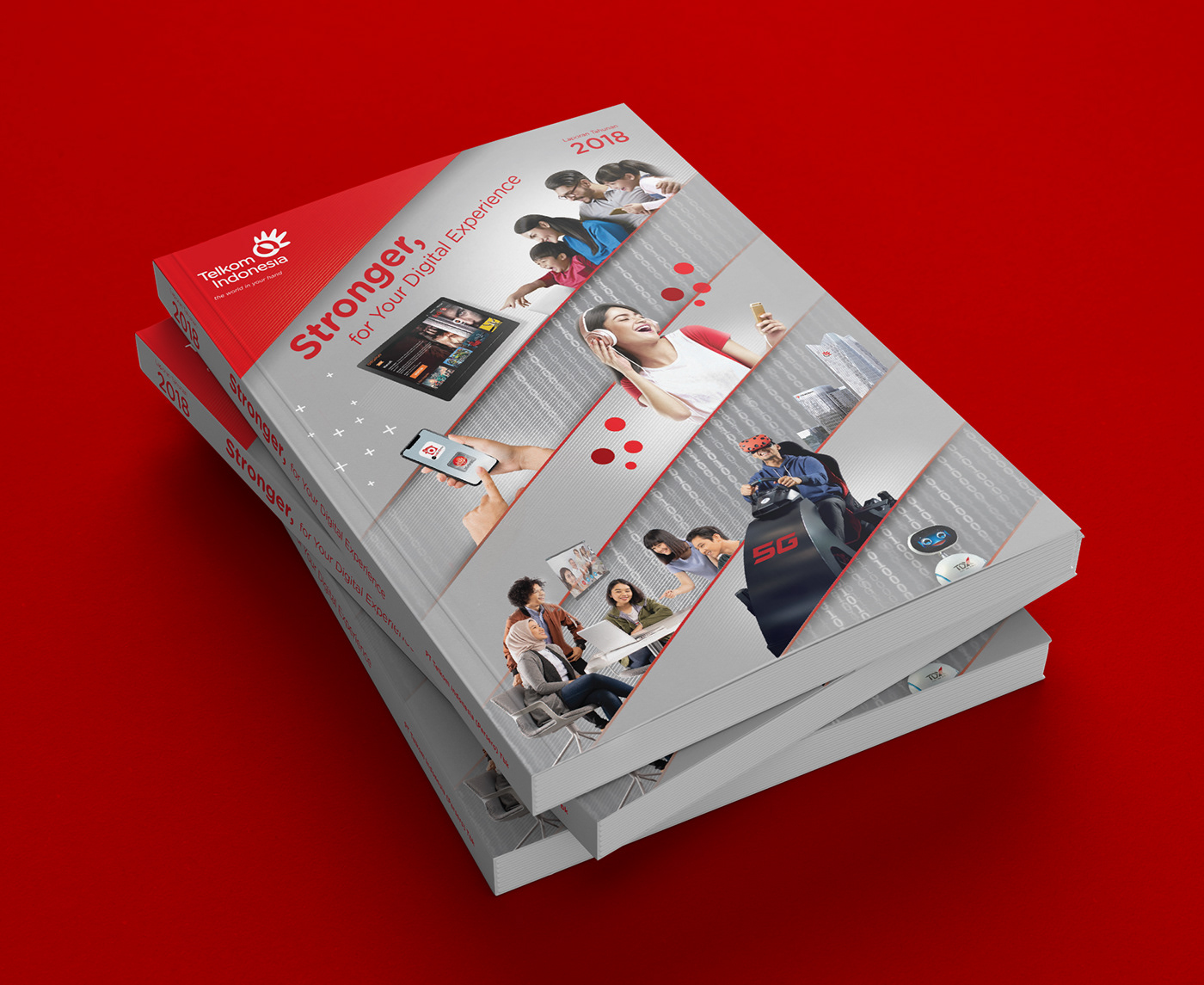 annual report laporan tahunan Corporate Communication