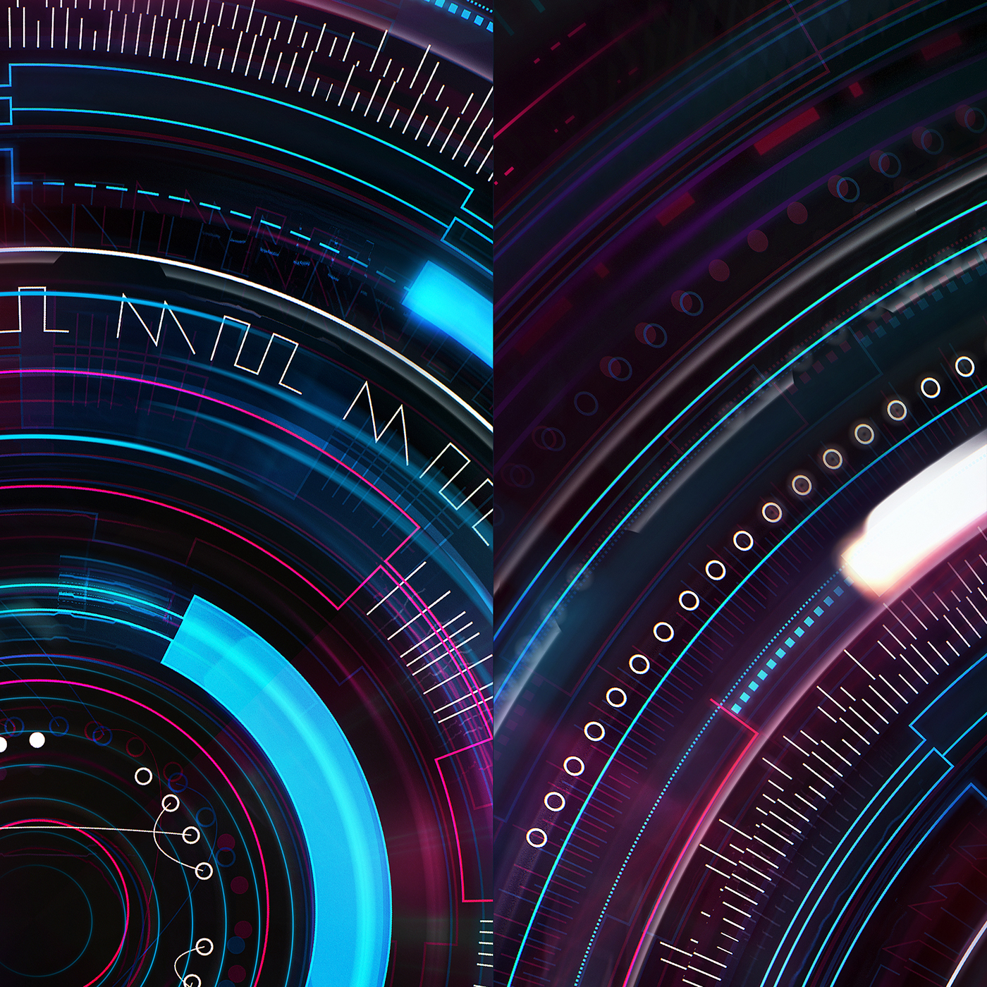 tech radial circular pink blue japan album art Comiket edm SYNTH Aberdeen happy hardcore japanese