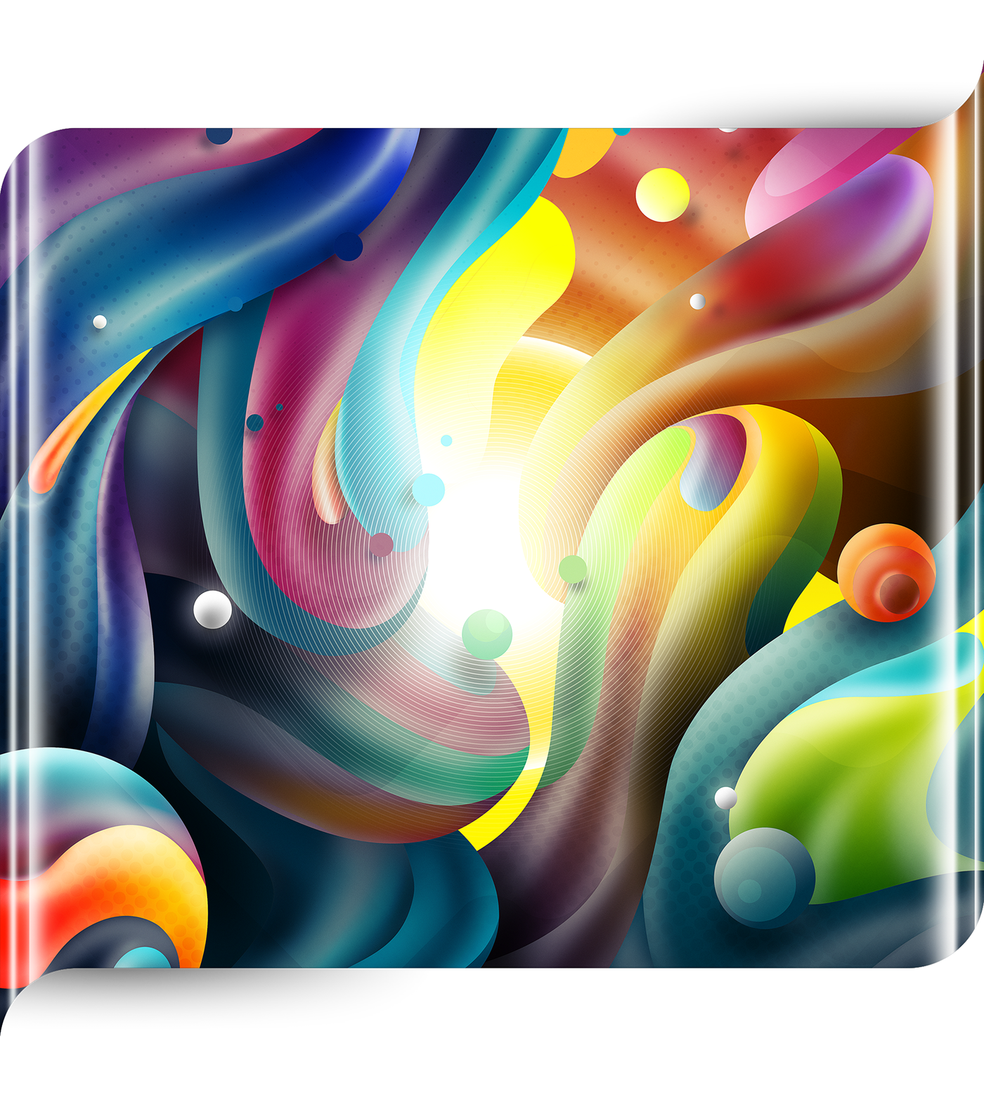 huawei admojo design wallpaper abstract phone mobile 3D ILLUSTRATION