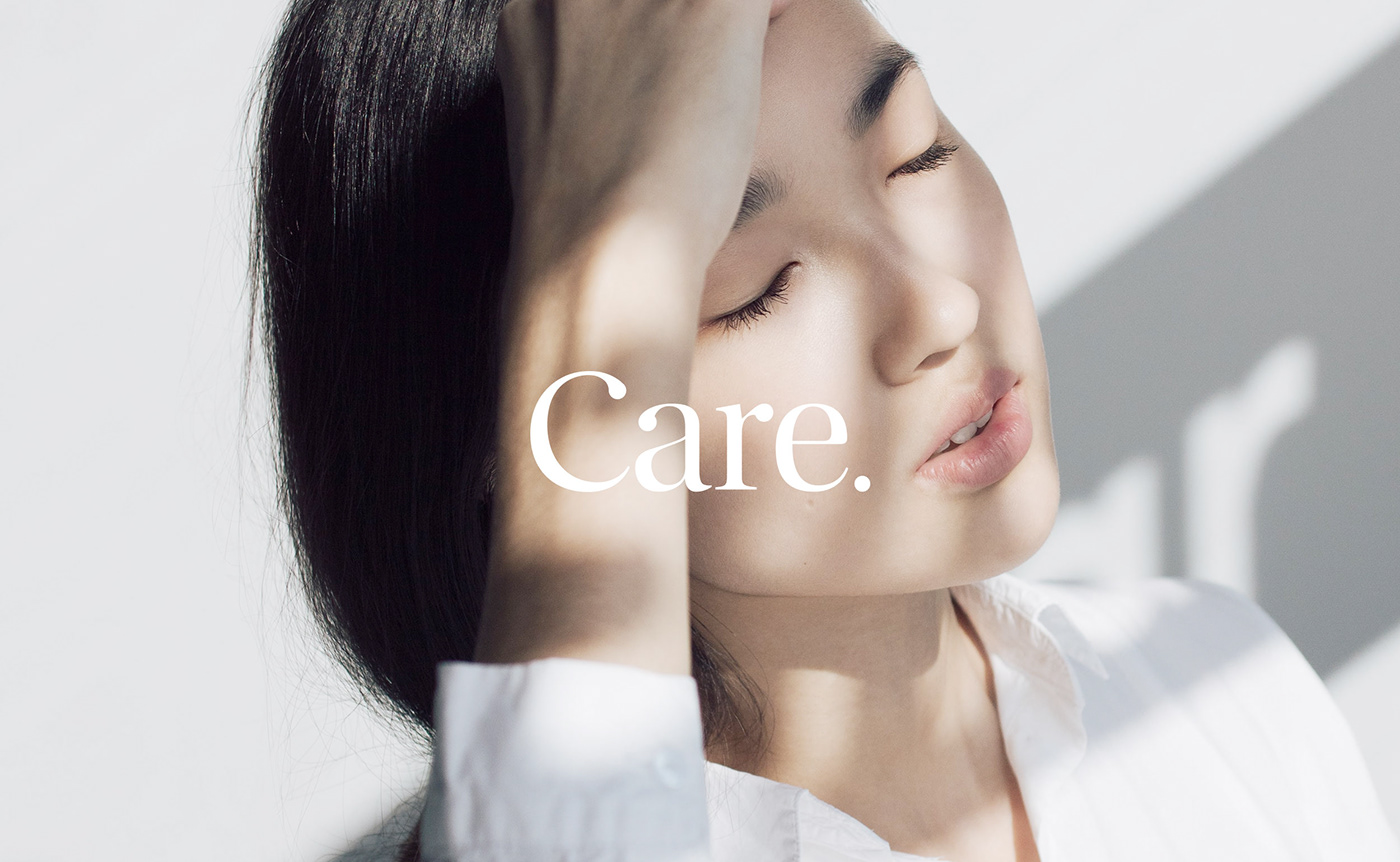 skincare Packaging clean elegant simple Logotype brochure product product packaging beauty