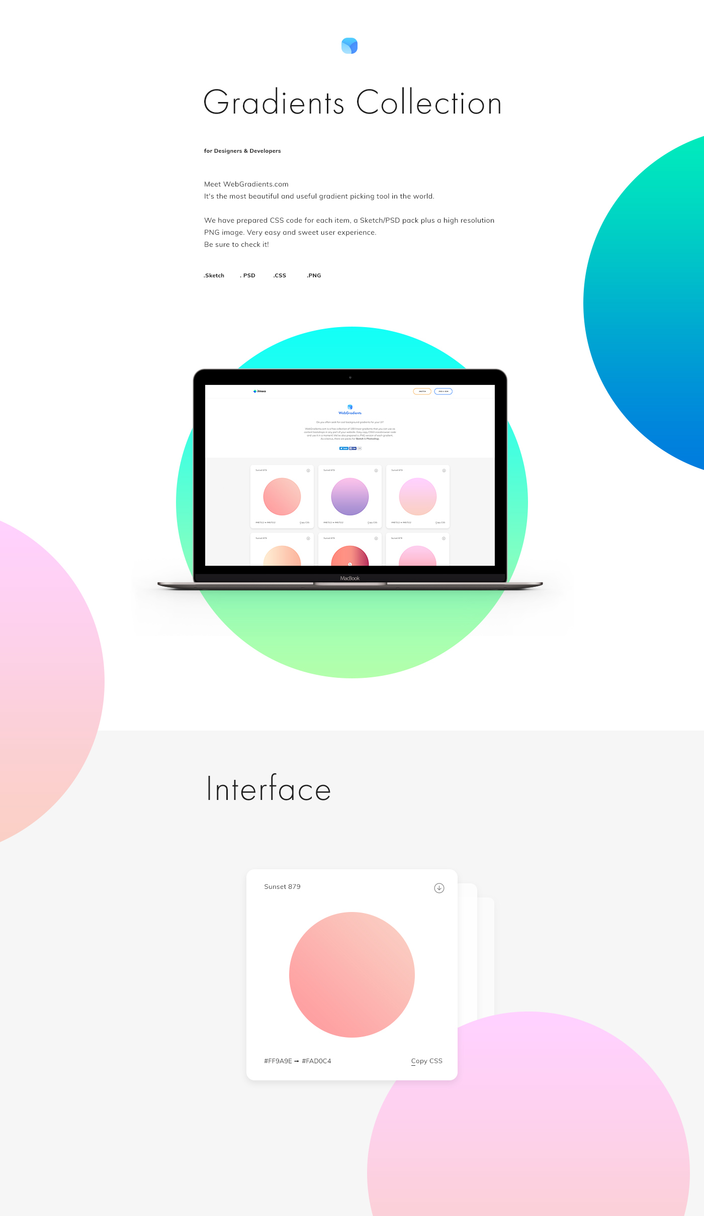 Useful Design Tool: WebGradients.com