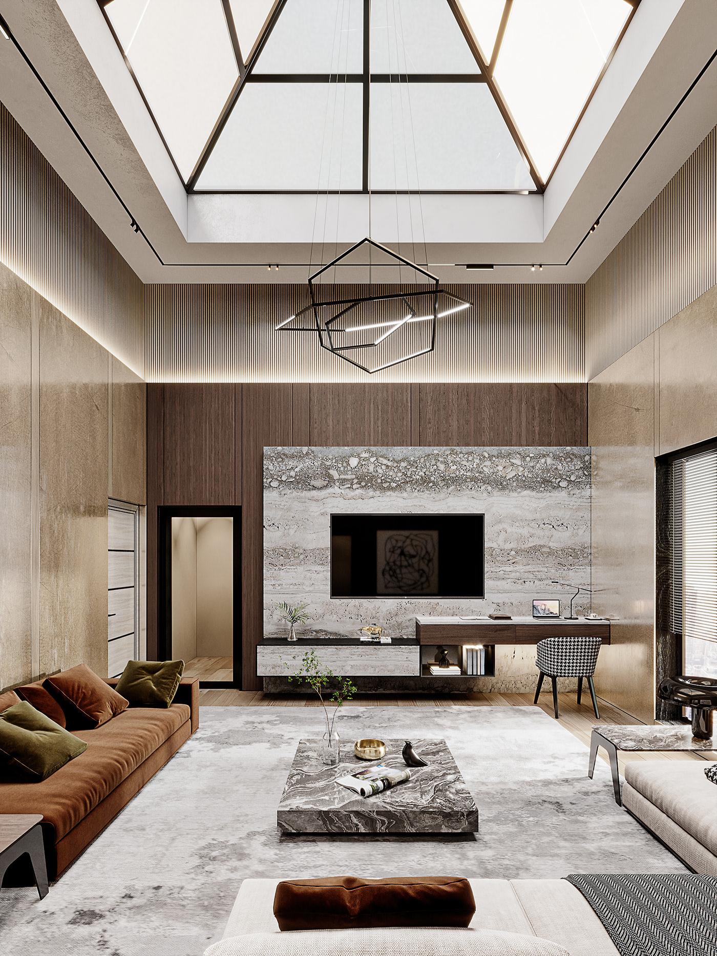 3dmax Behance CGI CoronaRender  design free Interior living Render visualization