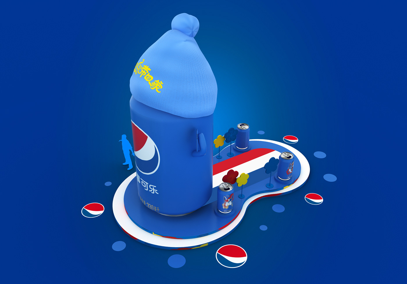 Pepsi Effect Diagram On Behance