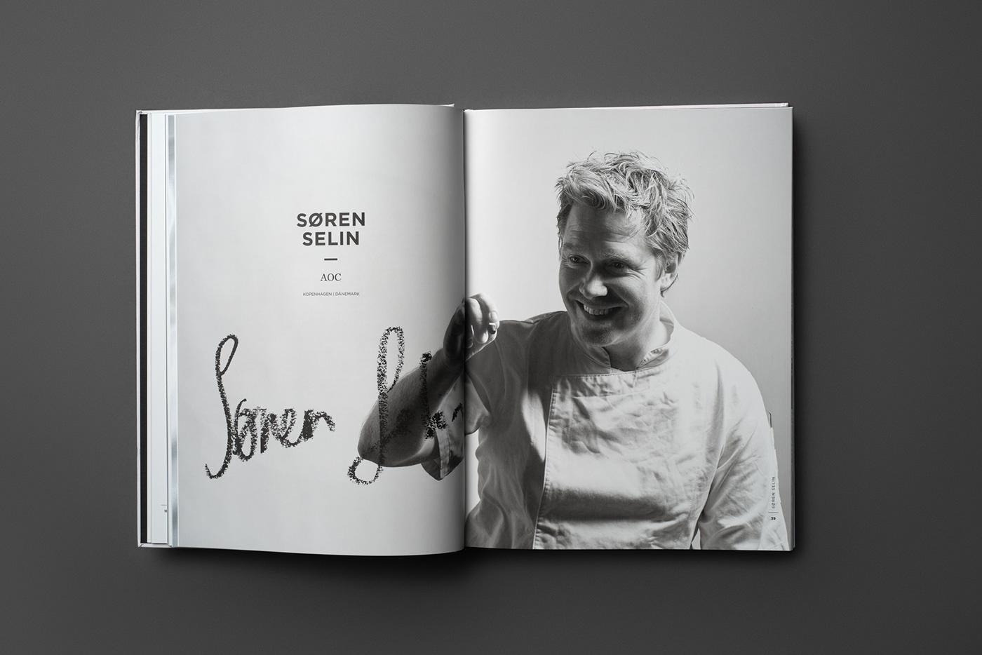 cookbook Culinary Ikarus salzburg austria golden Food  printdesign cook