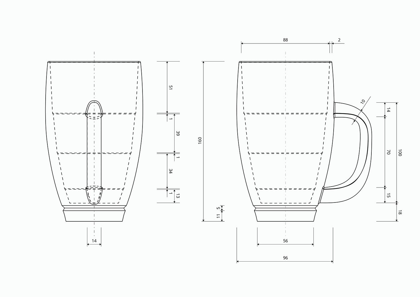 design product beer glass 3D industrial Render print model