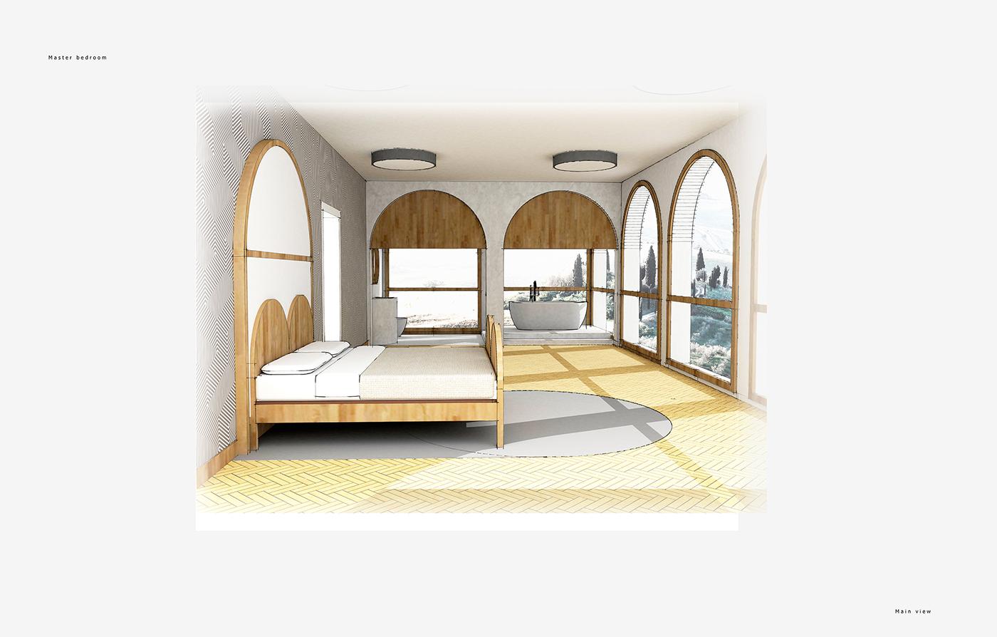 有設計感的19個室內設計手繪欣賞